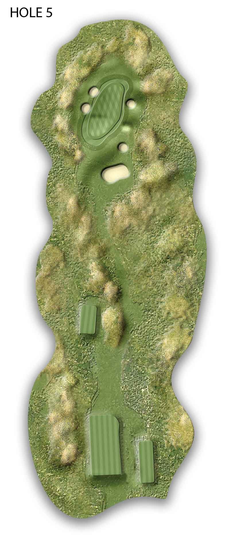 on donegal golf courses map