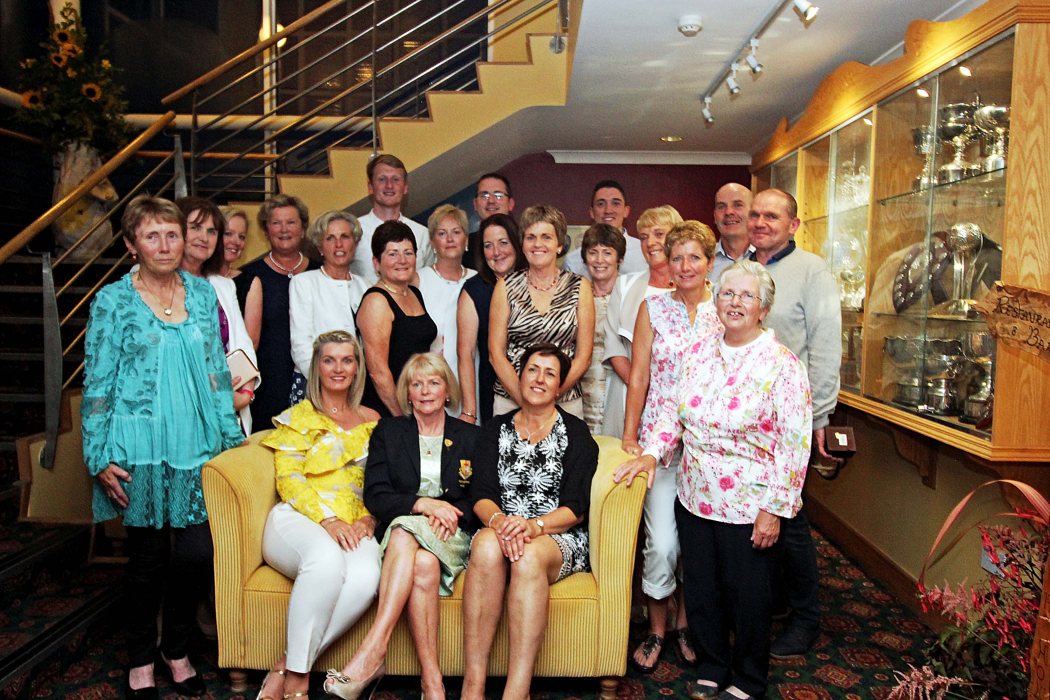 All Prize winners on Lady Captain's Night